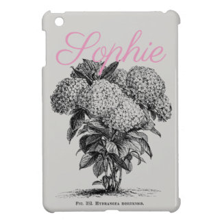 Étuis iPad Mini Fleur vintage/victorienne Personnalised