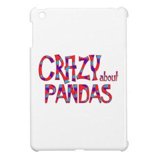 Étuis iPad Mini Fou au sujet des pandas