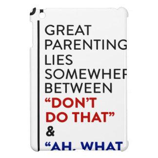 Étuis iPad Mini Grand conseil de condition parentale du Parenting