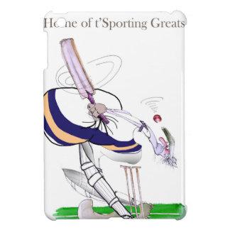 Étuis iPad Mini Greats sportifs de cricket de Yorkshire d'amour '