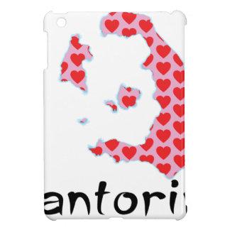 Étuis iPad Mini I coeur Santorini