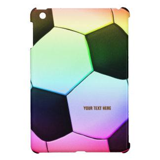 Étuis iPad Mini iPad coloré du football du football de