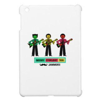 Étuis iPad Mini Joueurs de guitare déprimés de moustache de trio