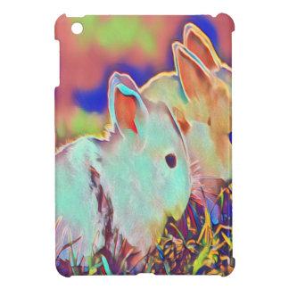 Étuis iPad Mini Lapins de nain de temps de jour