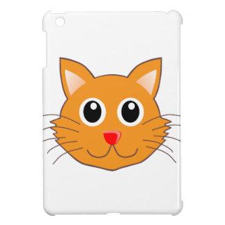Étuis iPad Mini Le chat orange au nez rouge