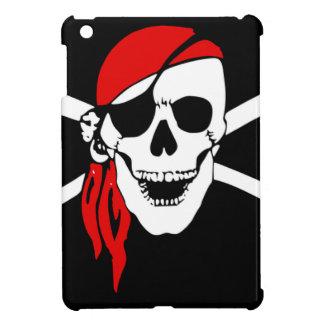 Étuis iPad Mini Le drapeau de pirate désosse le symbole de danger