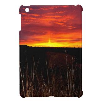 Étuis iPad Mini Le feu dans le ciel au lever de soleil