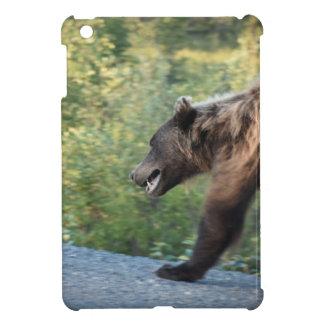 Étuis iPad Mini L'ours gris le Yukon, Canada attaque, des