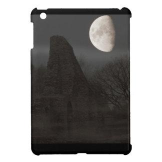 Étuis iPad Mini lune sur la ruine