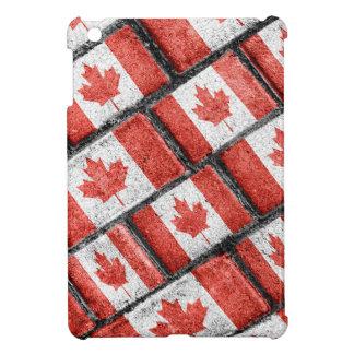 Étuis iPad Mini Motif canadien de motif de drapeau