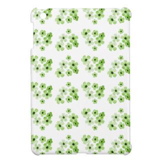 Étuis iPad Mini Motif de fleurs vert