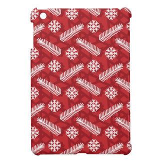Étuis iPad Mini Noël, vacances, décorations d'arbre, motif