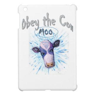 Étuis iPad Mini Obéissez la vache télépathique