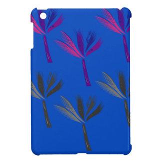 Étuis iPad Mini Paumes bleues exotiques