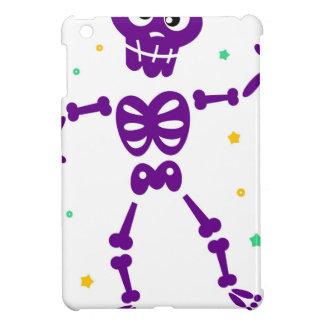 Étuis iPad Mini Peu de squelette pourpre mignon de danse