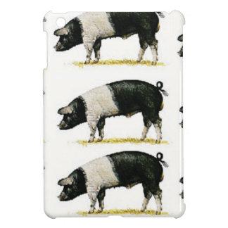 Étuis iPad Mini porcs dans une rangée
