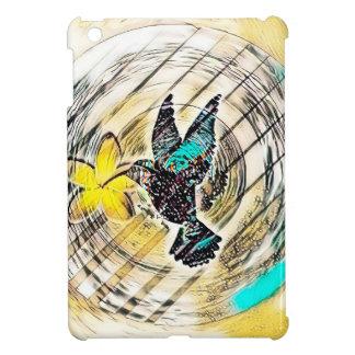Étuis iPad Mini Silhouette de colibri