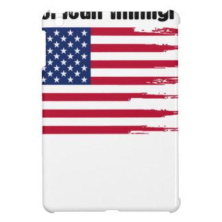 Étuis iPad Mini T-shirt immigré américain de cadeau