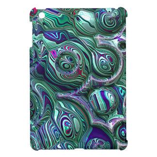 Étuis iPad Mini Tache floue colorée du résumé 3D