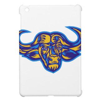 Étuis iPad Mini Tête de Buffalo de cap rétro