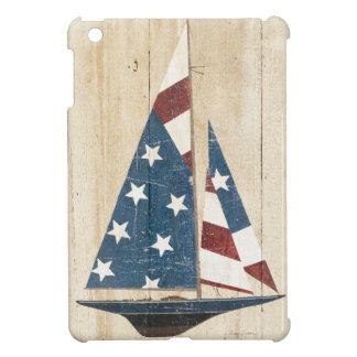 Étuis iPad Mini Voilier avec le drapeau américain