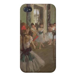 Étuis iPhone 4 Edgar Degas | la classe de danse, c.1873-76