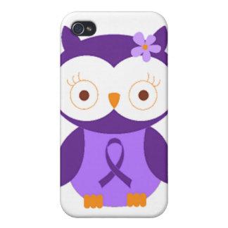 Étuis iPhone 4 Hibou de fibromyalgie