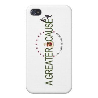 Étuis iPhone 4 Logo de cause de sigma de Kappa