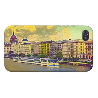 Étuis iPhone 4 Peinture hongroise du Parlement