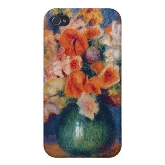 Étuis iPhone 4 Pierre un bouquet de Renoir |