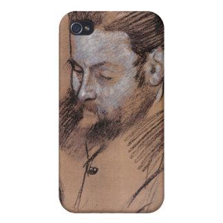Étuis iPhone 4 Portrait d'Edgar Degas | de Diego Martelli