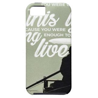 Étuis iPhone 5 Assez fort pour vivre cette vie