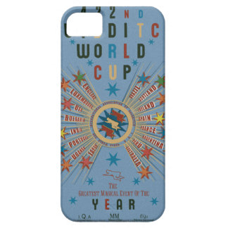 Étuis iPhone 5 Bleu de coupe du monde de QUIDDITCH™