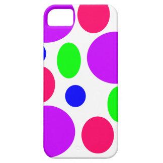 Étuis iPhone 5 Conception au néon de cercles