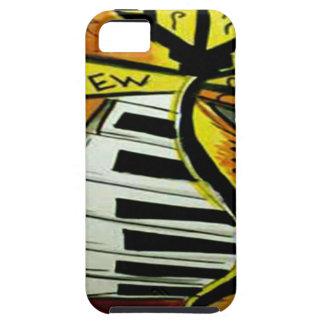 Étuis iPhone 5 Courrier musical de rue de la Nouvelle-Orléans