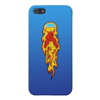 Étuis iPhone 5 Flipper de boule de feu