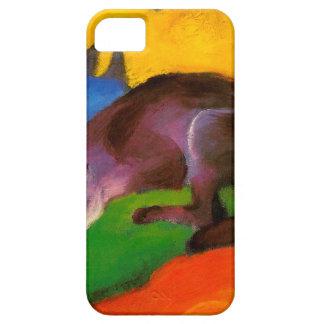 Étuis iPhone 5 Fox noir bleu de Franz Marc