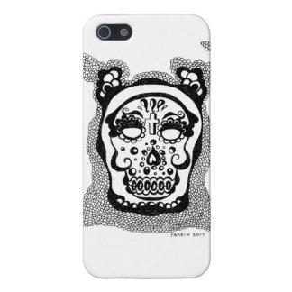 Étuis iPhone 5 jour de la couverture morte de téléphone portable