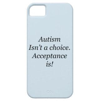 Étuis iPhone 5 L'autisme n'est pas un choix