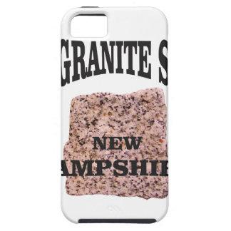 Étuis iPhone 5 L'état NH de granit