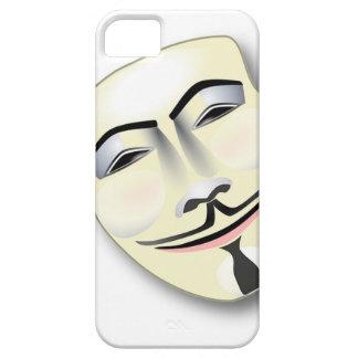 Étuis iPhone 5 Masque anonyme