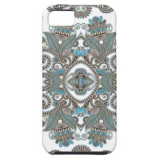 Étuis iPhone 5 Motif bleu décoratif