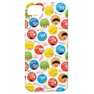 Étuis iPhone 5 Motif de caractère de cercle de Sesame Street