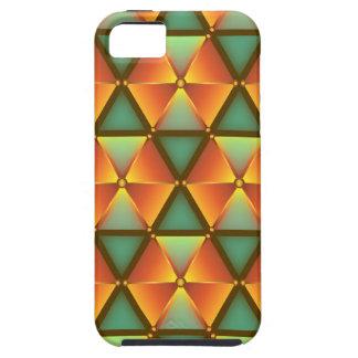 Étuis iPhone 5 Motif orange de diamant