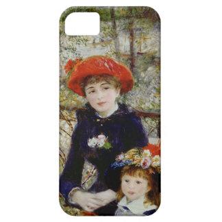 Étuis iPhone 5 Pierre un Renoir | deux soeurs, ou sur la terrasse