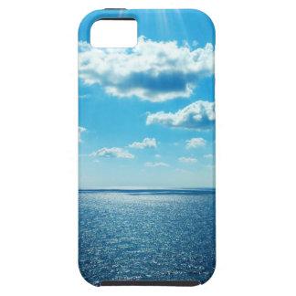 Étuis iPhone 5 Rayons au-dessus de la mer