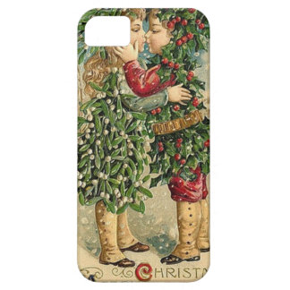 Étuis iPhone 5 Rétros vacances vintages de baiser victorien de