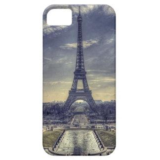 Étuis iPhone 5 Tour Eiffel vintage élégant chic Paris France