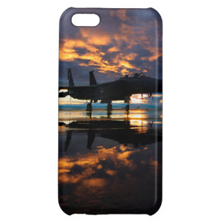 Étuis iPhone 5C Avion d'avion de chasse aux cadeaux de militaires