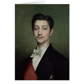 Eugene-Louis-Napoléon Bonaparte 1874 Carte De Vœux